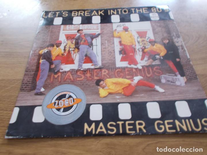 MASTER GENIUS. LET´S BREAK INTO THE 80´S MAXI (Música - Discos de Vinilo - Maxi Singles - Pop - Rock - New Wave Internacional de los 80)