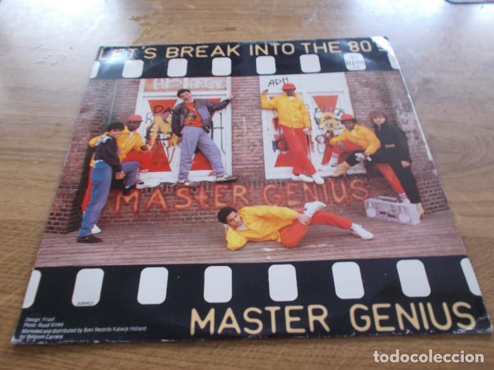 Discos de vinilo: MASTER GENIUS. LET´S BREAK INTO THE 80´S MAXI - Foto 2 - 104958523
