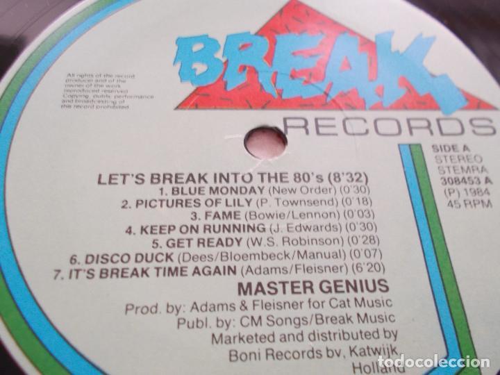 Discos de vinilo: MASTER GENIUS. LET´S BREAK INTO THE 80´S MAXI - Foto 3 - 104958523