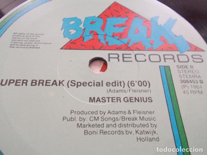 Discos de vinilo: MASTER GENIUS. LET´S BREAK INTO THE 80´S MAXI - Foto 4 - 104958523