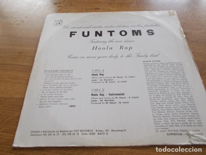 Discos de vinilo: FUNTOMS. HOOLA RAP. - Foto 2 - 104958627