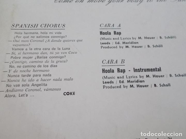 Discos de vinilo: FUNTOMS. HOOLA RAP. - Foto 3 - 104958627