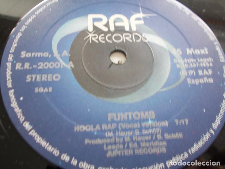 Discos de vinilo: FUNTOMS. HOOLA RAP. - Foto 4 - 104958627