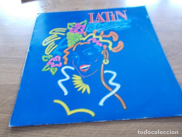 LATIN ELECTRICA. (Música - Discos de Vinilo - Maxi Singles - Pop - Rock - New Wave Internacional de los 80)