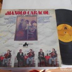 Discos de vinilo: ENRIQUE ORTEGA- LP HOMENAJE A MI PADRE MANOLO CARACOL. Lote 194568210