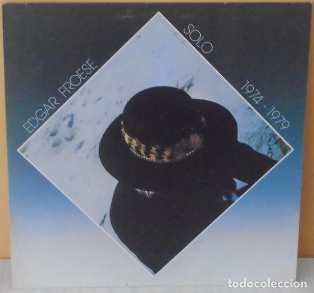EDGAR FROESE - SOLO 1974 - 1979 VIRGIN - 1982 (Música - Discos - LP Vinilo - Electrónica, Avantgarde y Experimental)