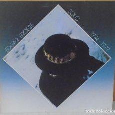 Discos de vinilo: EDGAR FROESE - SOLO 1974 - 1979 VIRGIN - 1982. Lote 104970171