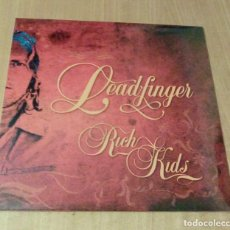 Discos de vinilo: LEADFINGER - RICH KIDS (LP 2008, BANG!-LP34, LIMITED ED./500, CARPETA DOBLE) PRECINTADO. Lote 104975307
