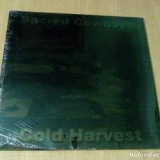 Discos de vinilo: SACRED COWBOYS - COLD HARVEST (LP BANG!-LP20, CARPETA DOBLE) PRECINTADO. Lote 104975767