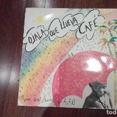 Discos de vinilo: JUAN LUIS GUERRA Y 4.40-OJALÁ QUE LLUEVA CAFÉ.MAXI ESPAÑA. Lote 104982919