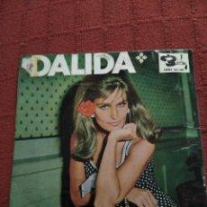 Discos de vinilo: DALIDA SINGLE MANUEL BENITEZ EL CORDOBES Y OTRAS. Lote 105010515