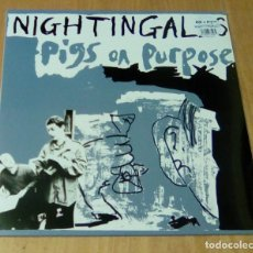 Discos de vinilo: NIGHTINGALES - PIGS ON PURPOSE (LP VINILISSSIMO / MUNSTER RECORDS MR 528) PRECINTADO. Lote 105016051