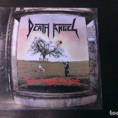 Discos de vinilo: LP DEATH ANGEL FROLIC THROUGH THE PARK THRASH METAL EDICIÓN ESPAÑOLA. Lote 105016371