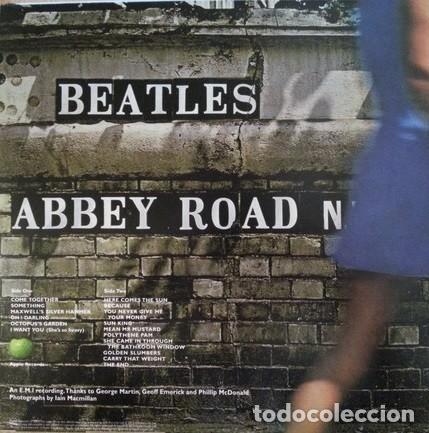 Discos de vinilo: The Beatles - Abbey Road - LP De Importación. Precintado - Foto 2 - 105019079