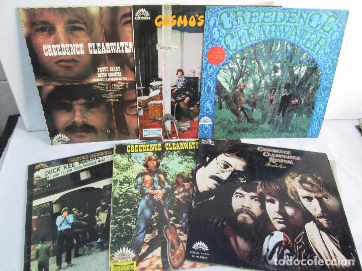 6 LP VINILO. GREENDENCE CLEARWATER REVIVAL. PRNADULUM. COSMO´S FACTORY...VER FOTOS (Música - Discos - Singles Vinilo - Country y Folk)