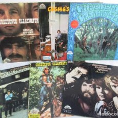 Discos de vinilo: 6 LP VINILO. GREENDENCE CLEARWATER REVIVAL. PRNADULUM. COSMO´S FACTORY...VER FOTOS. Lote 105025643