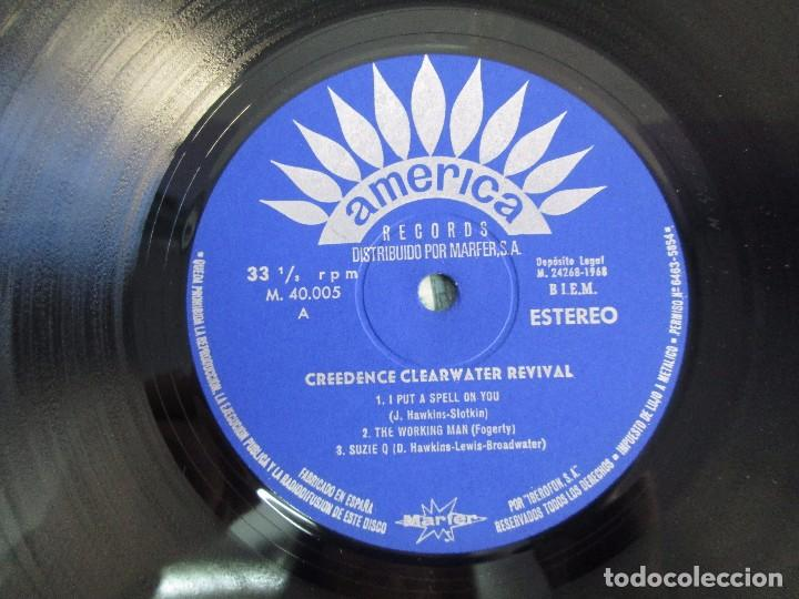 Discos de vinilo: 6 LP VINILO. GREENDENCE CLEARWATER REVIVAL. PRNADULUM. COSMO´S FACTORY...VER FOTOS - Foto 6 - 105025643