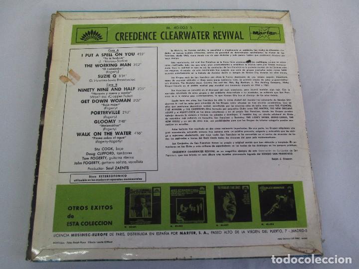 Discos de vinilo: 6 LP VINILO. GREENDENCE CLEARWATER REVIVAL. PRNADULUM. COSMO´S FACTORY...VER FOTOS - Foto 7 - 105025643