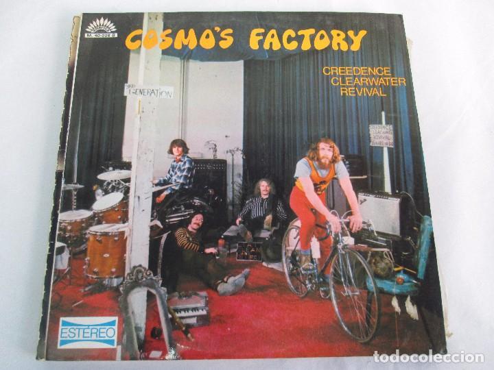 Discos de vinilo: 6 LP VINILO. GREENDENCE CLEARWATER REVIVAL. PRNADULUM. COSMO´S FACTORY...VER FOTOS - Foto 8 - 105025643