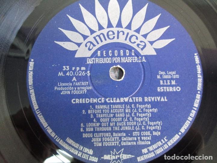 Discos de vinilo: 6 LP VINILO. GREENDENCE CLEARWATER REVIVAL. PRNADULUM. COSMO´S FACTORY...VER FOTOS - Foto 12 - 105025643