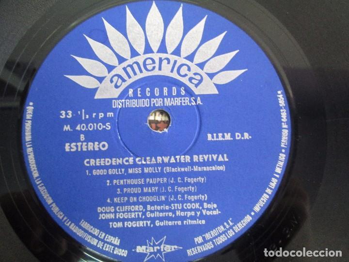 Discos de vinilo: 6 LP VINILO. GREENDENCE CLEARWATER REVIVAL. PRNADULUM. COSMO´S FACTORY...VER FOTOS - Foto 18 - 105025643