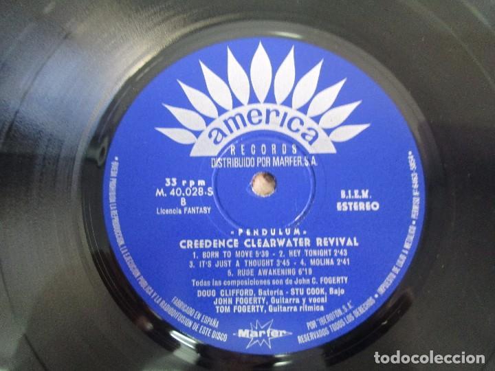 Discos de vinilo: 6 LP VINILO. GREENDENCE CLEARWATER REVIVAL. PRNADULUM. COSMO´S FACTORY...VER FOTOS - Foto 24 - 105025643