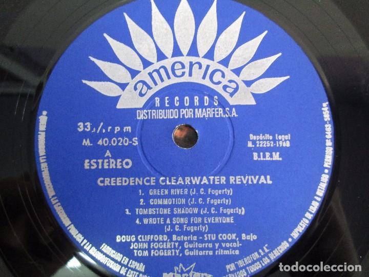 Discos de vinilo: 6 LP VINILO. GREENDENCE CLEARWATER REVIVAL. PRNADULUM. COSMO´S FACTORY...VER FOTOS - Foto 28 - 105025643