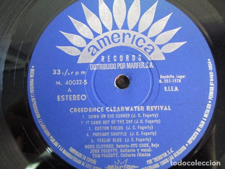Discos de vinilo: 6 LP VINILO. GREENDENCE CLEARWATER REVIVAL. PRNADULUM. COSMO´S FACTORY...VER FOTOS - Foto 36 - 105025643