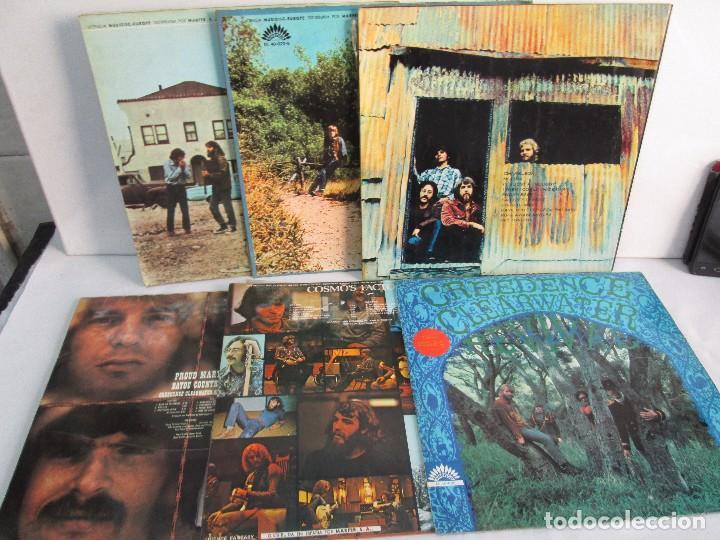 Discos de vinilo: 6 LP VINILO. GREENDENCE CLEARWATER REVIVAL. PRNADULUM. COSMO´S FACTORY...VER FOTOS - Foto 38 - 105025643