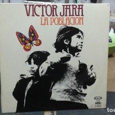 Discos de vinilo: VICTOR JARA LA POBLACION (1976). Lote 105033887