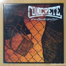 Discos de vinilo: CONCRETE - WE ARE ALL SUBCULTURE STREET TROOPERS - LP. Lote 105034735