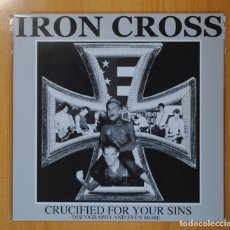 Vinyl records - IRON CROSS - CRUCIFIED FOR YOUR SINS-DISCOGRAPHY AND EVEN MORE - LP - 105035108