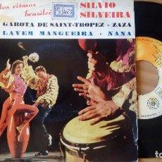 Discos de vinilo: EP (VINILO) DE SILVIO SILVEIRA Y SUS RITMOS BRASILEÑOS AÑOS 60. Lote 105070939