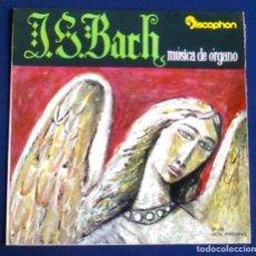 Discos de vinilo: DISCO VINILO EP 7''. JOHANN SEBASTIAN BACH, MÚSICA DE ÓRGANO, CON JURÍ ROPEK. DISCOPHON. J. S.. Lote 105074315