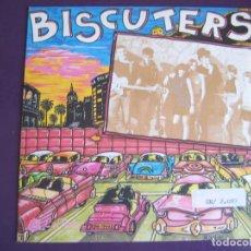 Discos de vinilo: BISCUTERS SG LA ROSA 1990 NO SE LO QUE TIENES / PERO MAS POP ROCK MOD. Lote 105087291
