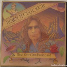 Discos de vinilo: HENRY MCCULLOUGH..MIND YOUR OWN BUSINESS.(DARK HORSE RECORDS 1975) USA.. Lote 105087623