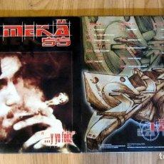 Discos de vinilo: LA MEKA 55 - Y YO FELIZ - DOBLE LP- RAP HIP-HOP. Lote 105099067