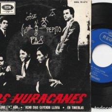 Discos de vinilo: LOS HURACANES - FOR YOUR LOVE + 3 (EP EMI-REGAL 1965). Lote 105103139