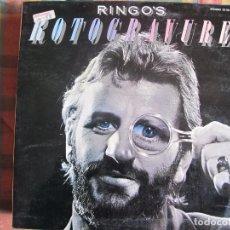 Discos de vinilo: LP - RINGO STARR - RINGO'S ROTOGRAVURE (SPAIN, POLYDOR 1976, PORTADA DOBLE). Lote 105107423