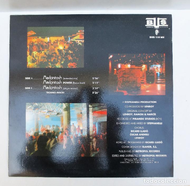 Discos de vinilo: MAXI SINGLE - DISCOTECA MACKINTOSH - XIII ANIVERSARIO 1979 - 1992 . - Foto 2 - 105109923