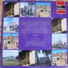 Vinyl-Schallplatten - LP - CANCIONERO POPULAR EXTREMEÑO - LOS JATEROS (SPAIN, FONTANA 1971) - 105110735