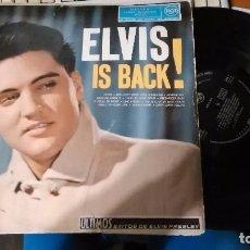Discos de vinilo: ELVIS IS BACK! LP ESPAÑA 1960.ESCUCHADO. Lote 105115871