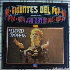 Discos de vinilo: DAVID BOWIE GIGANTES DEL POP LP VINILO. Lote 105119951
