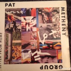 Discos de vinilo: PAT. METHENY. . LETTER FROM HOME. . Lote 105128071