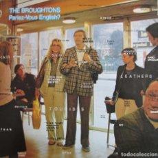 Discos de vinilo: EDGAR BROUGHTON BAND, THE / THE BROUGHTONS: PARLEZ-VOUS ENGLISH?. Lote 105143875
