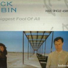 Discos de vinilo: COCK ROBIN. MAXISINGLE. SELLO CBS. EDITADO EN ESPAÑA. AÑO 1987. Lote 105164087
