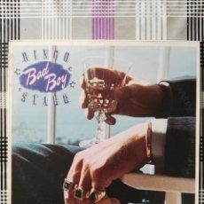 Discos de vinilo: LP RINGO STARR BAD BOY 1978 USA PROMOCIONAL BEATLES. Lote 105164335