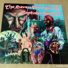 Discos de vinilo: CAPTAIN SINBAD - THE SEVEN VOYAGES OF CAPTAIN SINBAD (LP REEDICIÓN) NUEVO. Lote 105172995