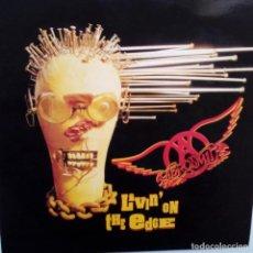 Discos de vinilo: AEROSMITH- LIVIN ON THE EDGE- SPAIN MAXI SINGLE 1993 - COMO NUEVO.. Lote 105174539