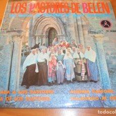 Discos de vinilo: CORO LOS PASTORES DE BELEN DE PAMPLONA- VILLANCICOS: LLAMADA A LOS PASTORES +3- EP 1966. Lote 105185935